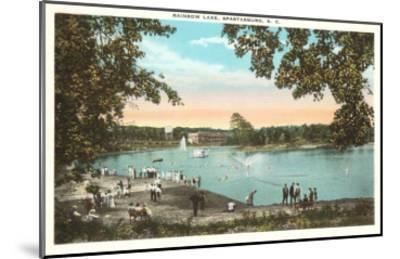 Rainbow Lake, Spartanburg, South Carolina--Mounted Art Print