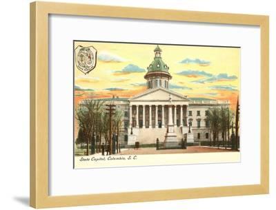 State Capitol, Columbia, South Carolina--Framed Art Print