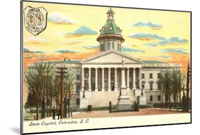 State Capitol, Columbia, South Carolina--Mounted Art Print