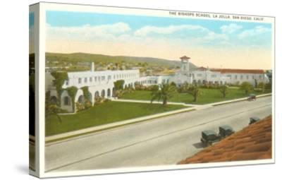 The Bishop's School, La Jolla, California--Stretched Canvas Print