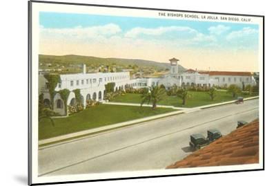 The Bishop's School, La Jolla, California--Mounted Art Print