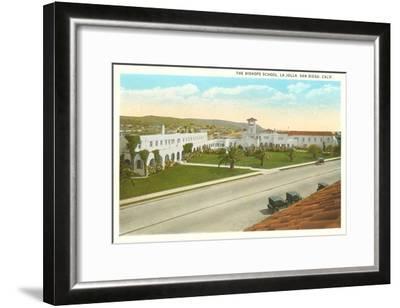 The Bishop's School, La Jolla, California--Framed Art Print