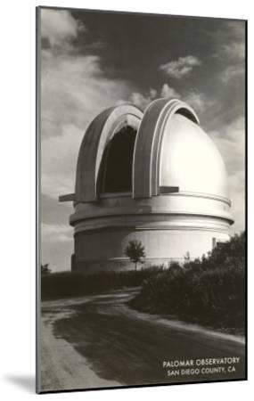 Palomar Observatory, San Diego County, California--Mounted Art Print