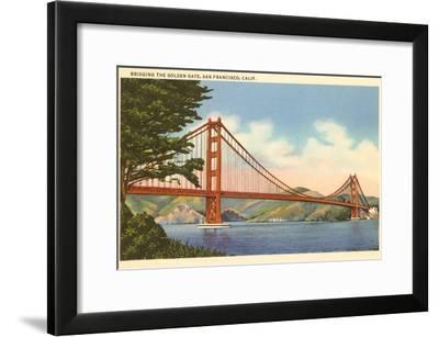 Golden Gate Bridge, San Francisco, California--Framed Art Print