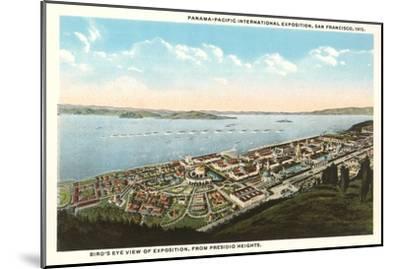 Overview of Presidio Heights, San Francisco, California--Mounted Art Print