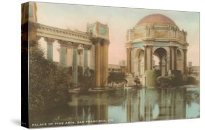 Palace of Fine Arts, San Francisco, California--Stretched Canvas Print