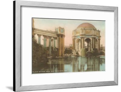 Palace of Fine Arts, San Francisco, California--Framed Art Print