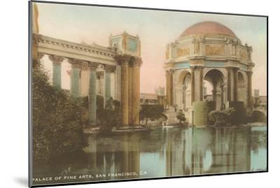 Palace of Fine Arts, San Francisco, California--Mounted Art Print