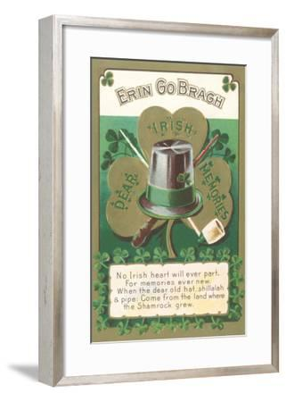 Erin Go Bragh, Dear Irish Memories--Framed Art Print