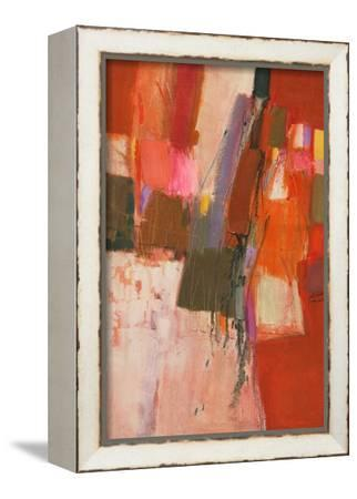 Carmen-Ja'afar Mohammed Khader-Framed Stretched Canvas Print