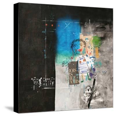 Clamor-Sattar Darwich-Stretched Canvas Print