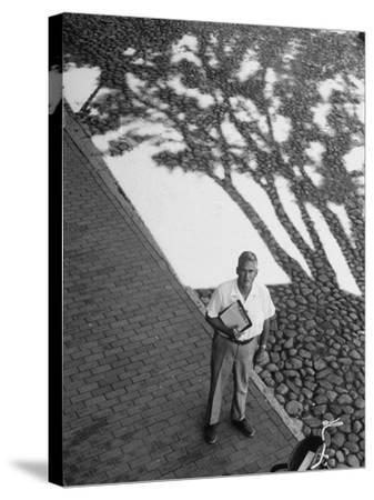 Investor Walter Beinecke Jr--Stretched Canvas Print
