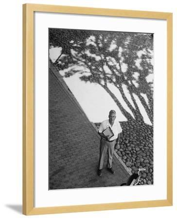 Investor Walter Beinecke Jr--Framed Photographic Print