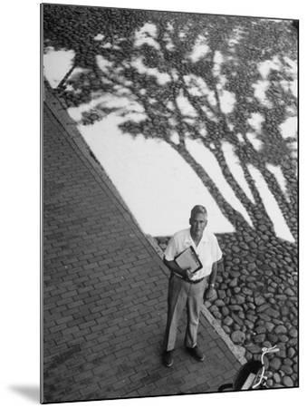 Investor Walter Beinecke Jr--Mounted Photographic Print