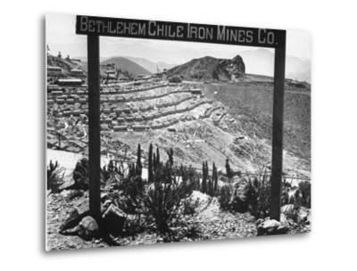 Bethlehem Chile Iron Mines Co. and Operations There, Workers' Homes, Etc--Metal Print
