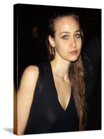 Singer Fiona Apple--Stretched Canvas Print