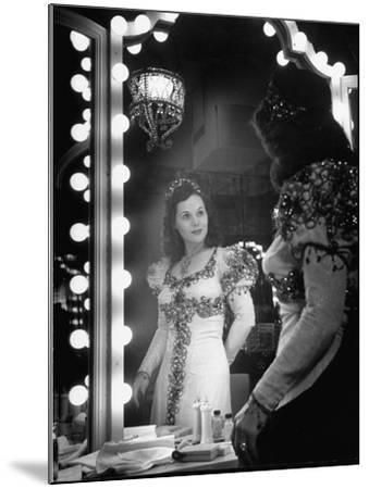 Opera Singer Nadine Connor Posing in Costume--Mounted Photographic Print