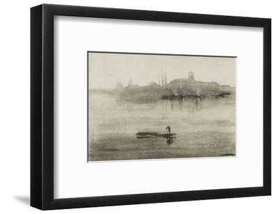 Nocturne-James Abbott McNeill Whistler-Framed Giclee Print