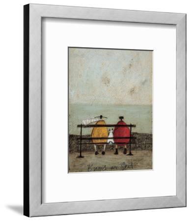 Bums On Seat-Sam Toft-Framed Giclee Print