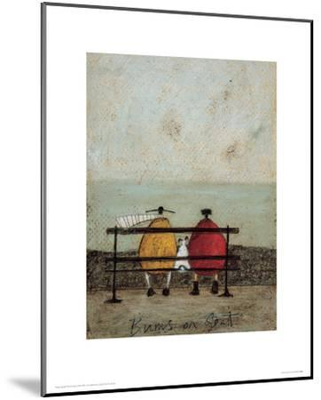 Bums On Seat-Sam Toft-Mounted Giclee Print