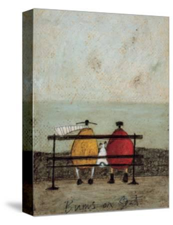 Bums On Seat-Sam Toft-Stretched Canvas Print