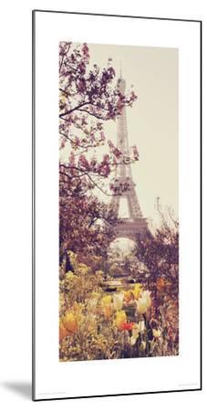 Springtime in Paris-Liz Rusby-Mounted Giclee Print