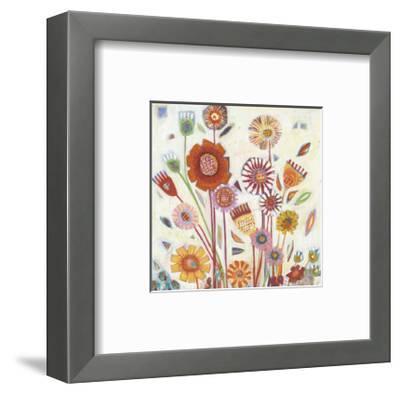 Summer Blooms-Shyama Ruffell-Framed Giclee Print
