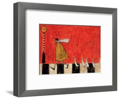 Crossing With Ducks-Sam Toft-Framed Giclee Print