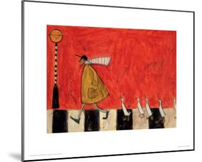 Crossing With Ducks-Sam Toft-Mounted Giclee Print