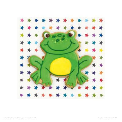 Happy Hoppy Frog-Howard and Lauren Shooter and Floodgate-Framed Giclee Print