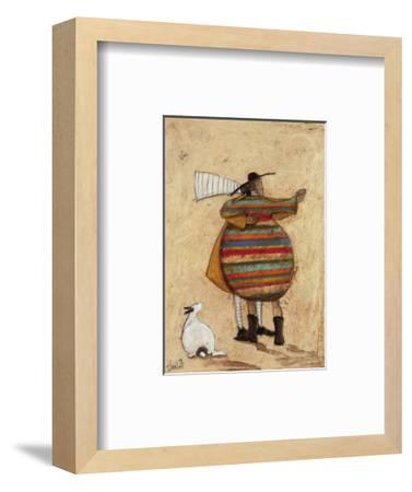 Dancing Cheek To Cheeky-Sam Toft-Framed Giclee Print