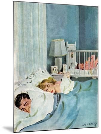"""Who's Turn?"", January 21, 1950-M^ Coburn Whitmore-Mounted Giclee Print"