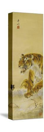 Roaring Tiger-Gao Qifeng-Stretched Canvas Print