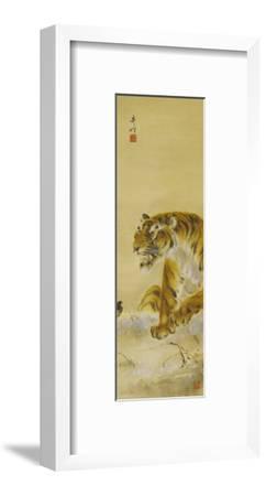 Roaring Tiger-Gao Qifeng-Framed Giclee Print