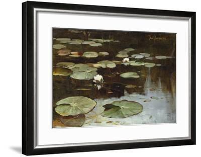 Water Lilies-Julius Sergius Klever-Framed Giclee Print