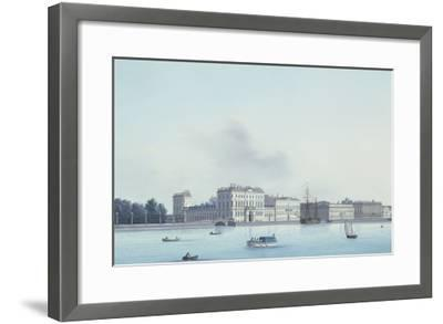 A View of St. Petersburg; the Neva River- Leperate-Framed Giclee Print