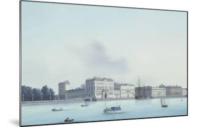 A View of St. Petersburg; the Neva River- Leperate-Mounted Giclee Print