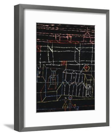Children of the City; Kinder Von Der Stadt-Paul Klee-Framed Giclee Print