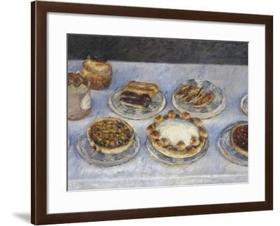 Cakes; Gateaux-Gustave Caillebotte-Framed Giclee Print
