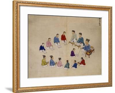 Classroom-Kim Junkeun-Framed Giclee Print