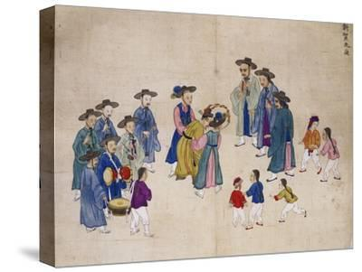 Wedding Ceremony-Kim Junkeun-Stretched Canvas Print
