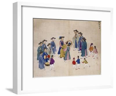Wedding Ceremony-Kim Junkeun-Framed Giclee Print