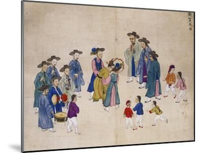Wedding Ceremony-Kim Junkeun-Mounted Giclee Print