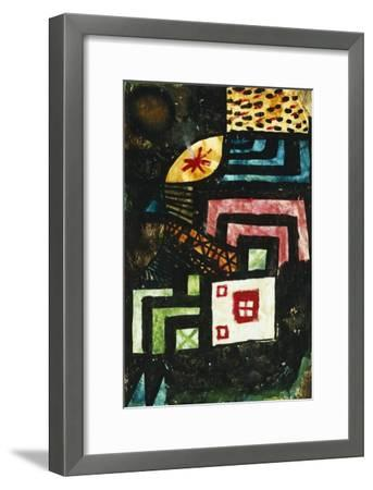 Study in Stone; Studie Im Stein-Paul Klee-Framed Giclee Print
