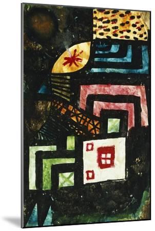 Study in Stone; Studie Im Stein-Paul Klee-Mounted Giclee Print