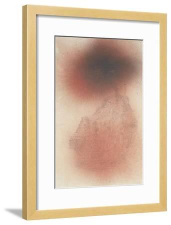 Prelude to Golgotha; Ein Vorspiel Zu Golgatha-Paul Klee-Framed Giclee Print