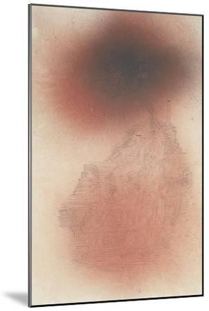 Prelude to Golgotha; Ein Vorspiel Zu Golgatha-Paul Klee-Mounted Giclee Print