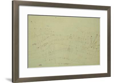Prehistoric Vegetation; Praehistorische Flora-Paul Klee-Framed Giclee Print