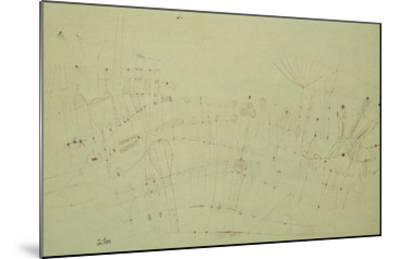 Prehistoric Vegetation; Praehistorische Flora-Paul Klee-Mounted Giclee Print