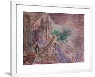 Wege Im Sand Ii-Paul Klee-Framed Giclee Print
